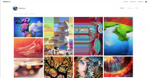 Taking the New BlockChain Digital Art Collector Platform MAKERSPLACE for a Spin